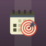 Action plan icon for targeted goals