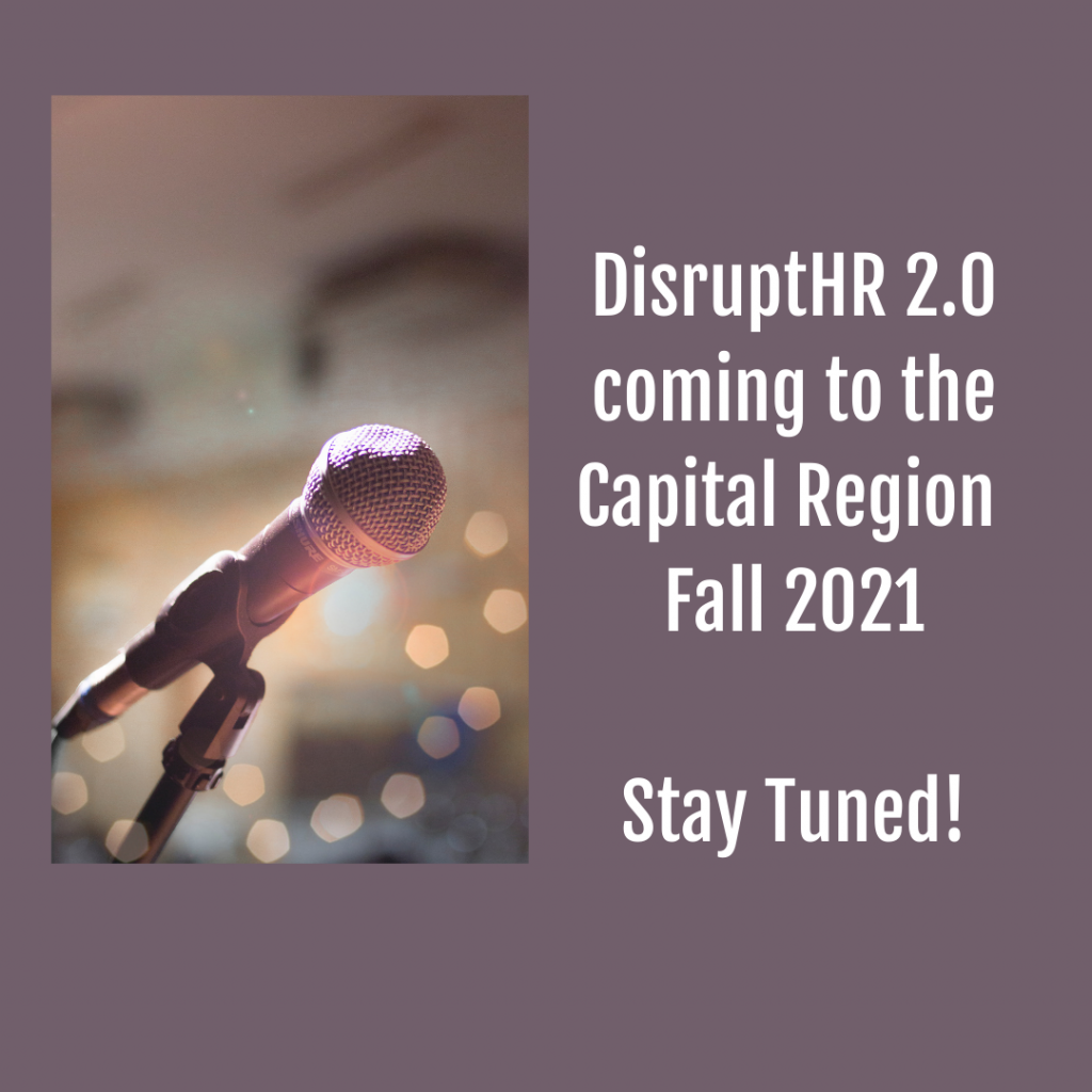 DisruptHR Capital Region 2021